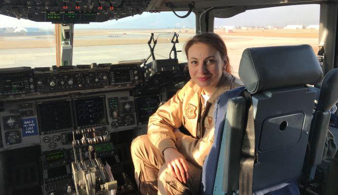 Simona Maierean, prima femeie pilot comandant de aeronavă în cadrul Heavy Airlift Wing din Europa - arhivapersonala-1593181211.jpg