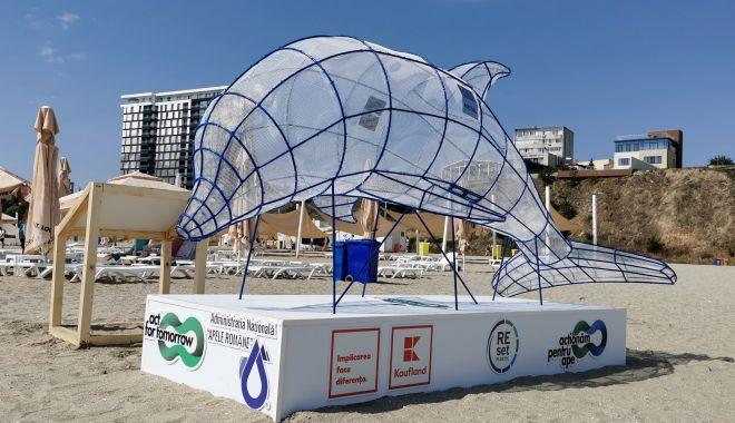 Artă din gunoaie. Puncte de colectare a deșeurilor reciclabile, pe plajele de pe litoral - artadingunoaie-1595441407.jpg