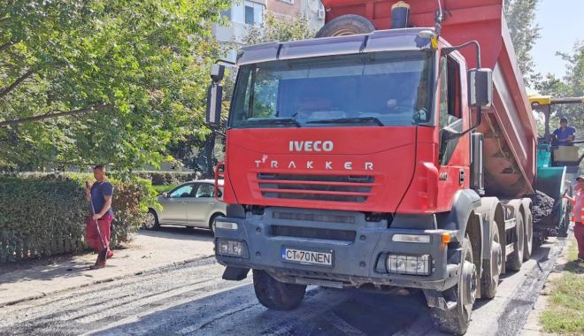 Carosabil recondiționat pe o alee adiacentă bulevardului I.C. Brătianu - asfaltare1-1599634242.jpg