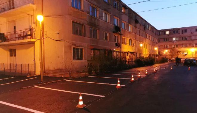 Foto: Se modernizează infrastructura pietonală de pe bulevardul Tomis