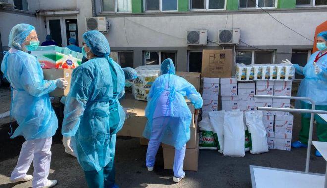 """Foto: Asociația """"Dăruiește Aripi"""" sare în ajutorul personalului medical de la Spitalul de Boli Infecțioase Constanța"""