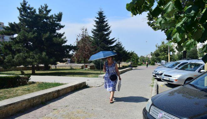 Foto: Astăzi caniculă, mâine, ploi și furtuni, la Constanța