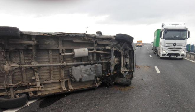 Șoferi, atenție! Accident pe Autostrada A2! - atentieaccident-1574685122.jpg