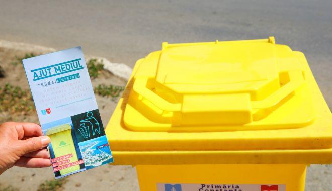Atenţie, constănţeni! A fost suspendată distribuirea pubelelor pentru deşeurile reciclabile - atentieconstantenipubele-1606143805.jpg