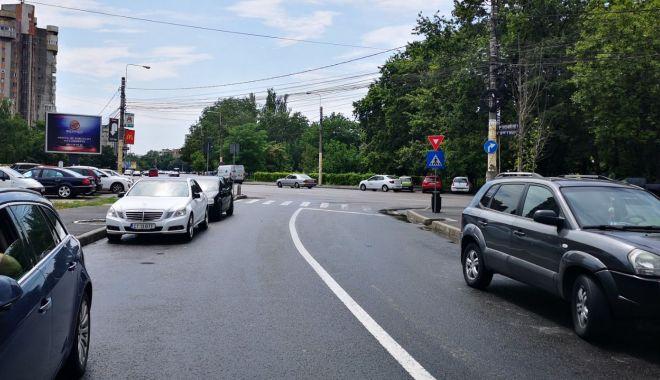 Foto: Atenție, șoferi! De astăzi, sens unic pe strada Traian