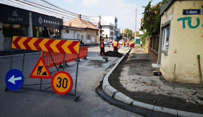 Foto: Atenție, șoferi! Strada Unirii - închisă pentru asfaltare și reabilitare