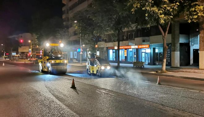 Foto: Atenție, șoferi! Restricții parțiale de trafic pe un tronson al bulevardului Tomis