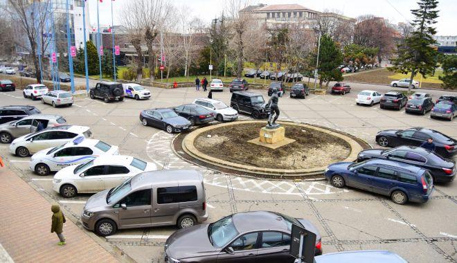 Foto: Atenție, șoferi! Restricții de circulație în zona Sălii Sporturilor din Constanța