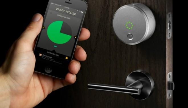 VIDEO. Cheia casei viitorului va fi o aplicație pe telefon - augustsmartlock630x420-1407846783.jpg