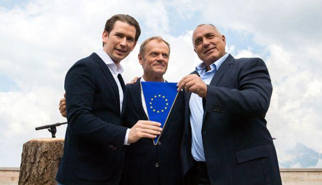 """Foto: """"Austria va folosi președinția UE pentru a construi o Europă care protejează"""""""
