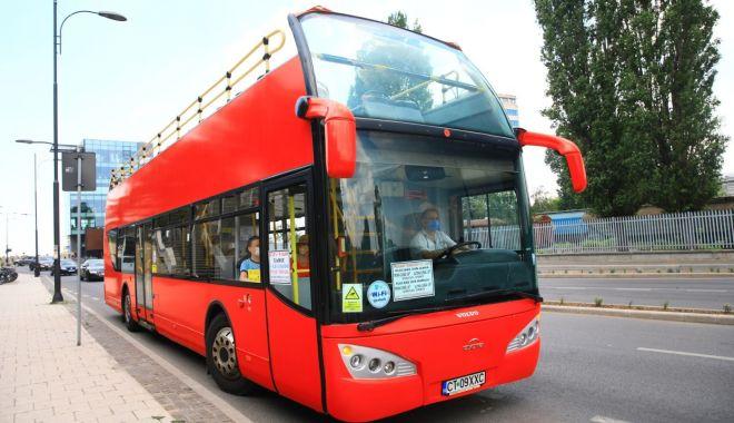 Foto: Autobuzele supraetajate, repuse în circulație