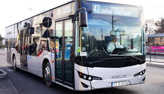 Foto: Autobuzele de pe liniile 42, 44, 48, 51 și 51B circulă deviat, astăzi