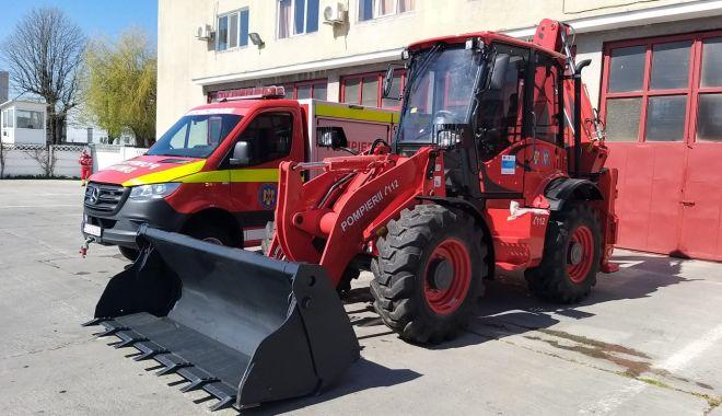 Foto: Autospeciale noi la Detașamentul de Pompieri Medgidia