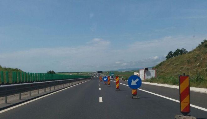 Foto: ȘOFERI, ATENȚIE! Trafic îngreunat pe Autostrada A2, pe sensul Constanța - București