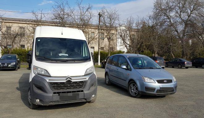 Foto: Autovehicule furate din Austria și Belgia, descoperite la Constanța