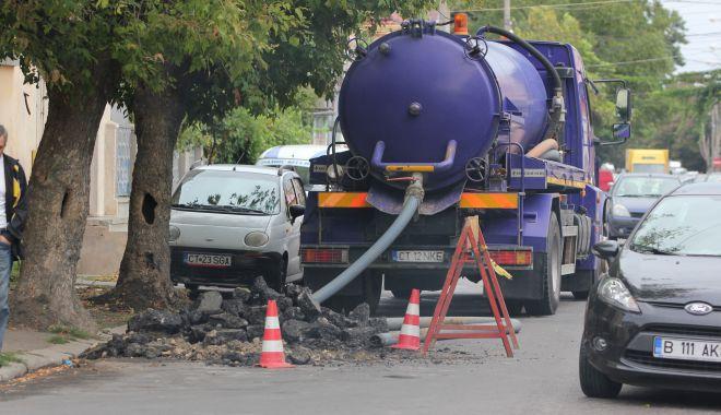 Foto: ATENȚIE ȘOFERI! Strada Mircea cel Bătrân se închide pentru lucrări RAJA