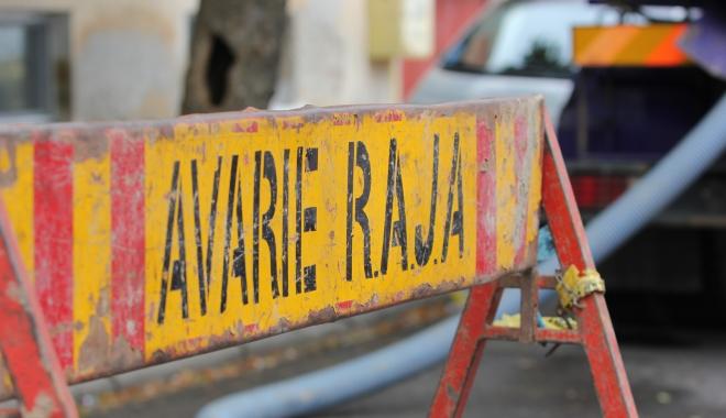 CONSTANȚA A RĂMAS FĂRĂ APĂ RECE. Vezi care sunt zonele afectate - avarielucrariraja6-1494398146.jpg