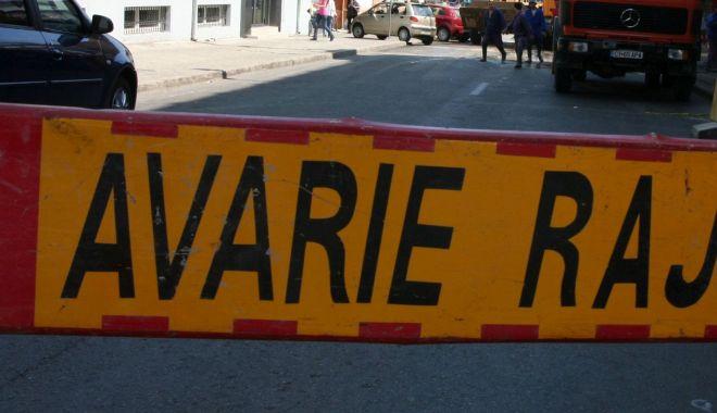 AVARIE RAJA. O parte din cartierul Faleză Nord a rămas fără apă rece - avarieraja-1604997329.jpg