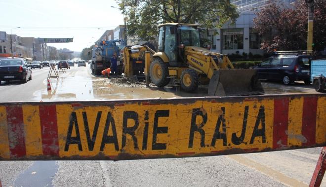 Foto: Atenție, șoferi. Se circulă greu pe bulevardul Tomis!