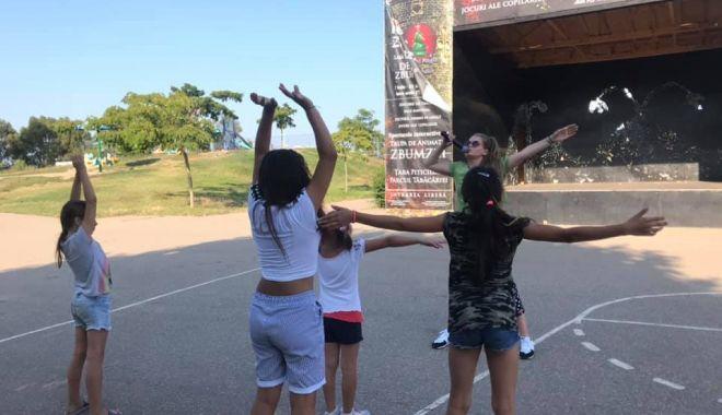 Foto: Aventura Hip Hip Zbumzzi continuă în parcurile din Constanța