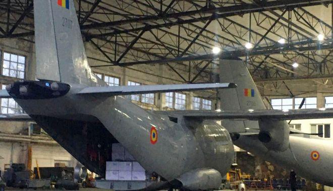 Foto: Materiale sanitare, aduse de aeronave militare din Turcia și Germania