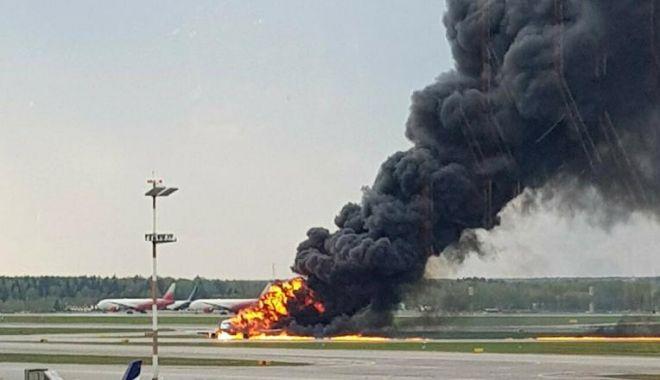 VIDEO / Noi imagini cu tragedia aviatică din Rusia. Piloții, acuzați că