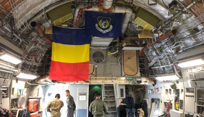 Foto: Transport aerian special din Coreea de Sud, cu o aeronavă NATO. Cine este pilotul