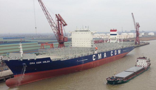 Foto: 53 de nave și-au anunțat sosirea în porturile maritime românești