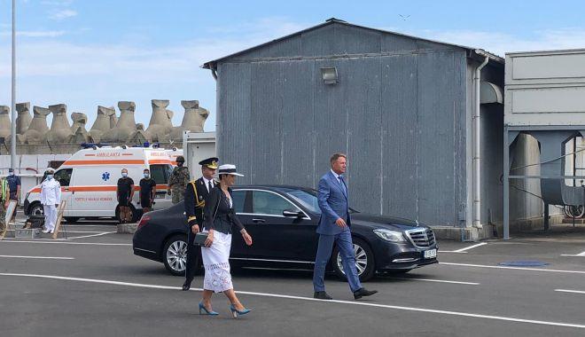 Foto: Festivitățile de Ziua Marinei sunt găzduite, anul acesta, de Portul Militar Constanța. GALERIE FOTO