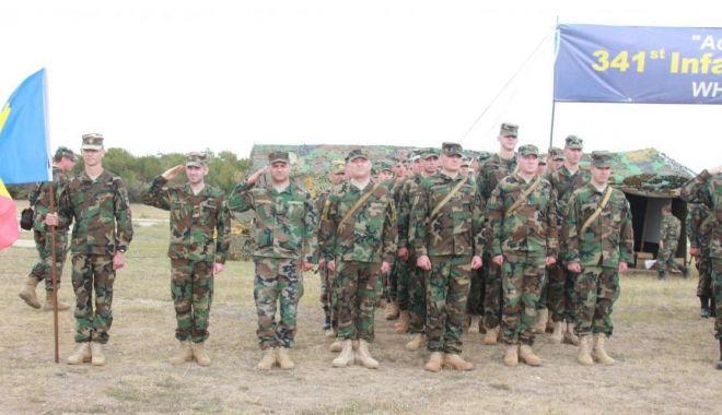 """Foto: Militari din șase țări, la exercițiul """"Platinum Eagle"""" de la Babadag"""
