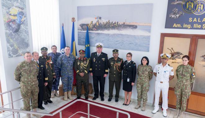 Foto: Delegație din Republica Populară Bangladesh, în vizită la Forțele Navale Române
