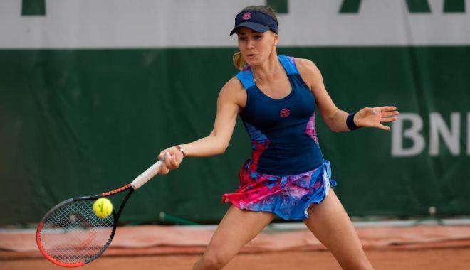 Foto: Tenis, WTA Jurmala / Irina Bara și Dalila Jakupovic s-au calificat în semifinalele probei de dublu
