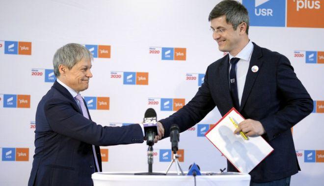 Foto: Dan Barna, desemnat candidatul Alianței 2020 USR-PLUS la alegerile prezidențiale