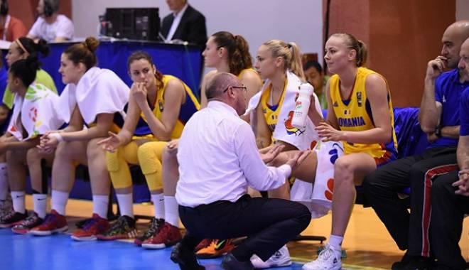 Foto: Baschet feminin: România a fost învinsă de Franța la Eurobasket 2015