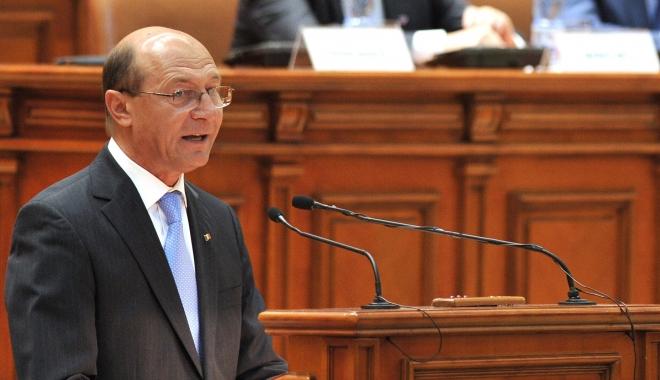 """Foto: Traian Băsescu: """"Am dreptul să mai candidez o dată. Va fi vai de voi!"""""""