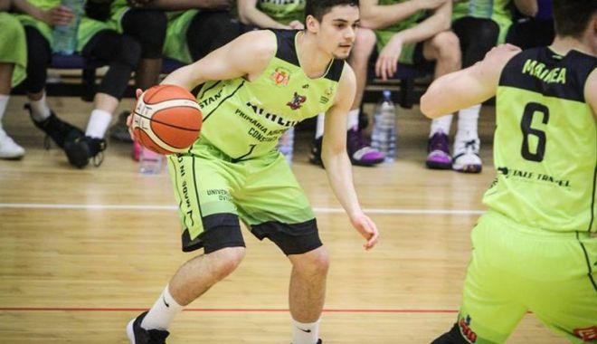 Foto: BC Athletic va avea un jucător în All-Star Game-ul baschetului românesc