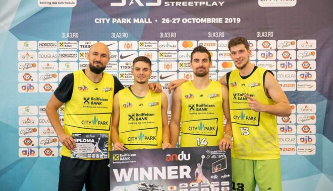 Foto: Baschet Club Athletic a câștigat 3x3 Constanța Streetplay