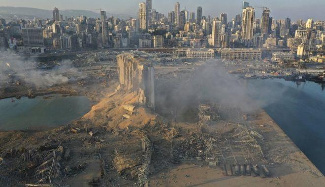 Foto: Trei zile de doliu național în Liban, după explozia din Beirut