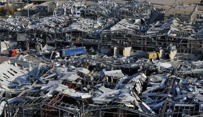 Foto: Peste 60 de persoane sunt date dispărute după explozia din Beirut