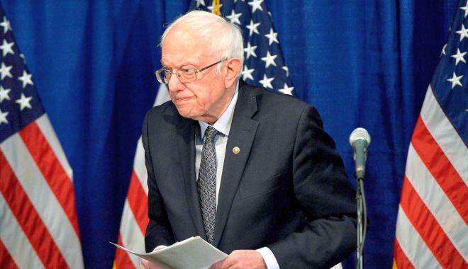 Foto: Bernie Sanders iese din cursa pentru președinția SUA
