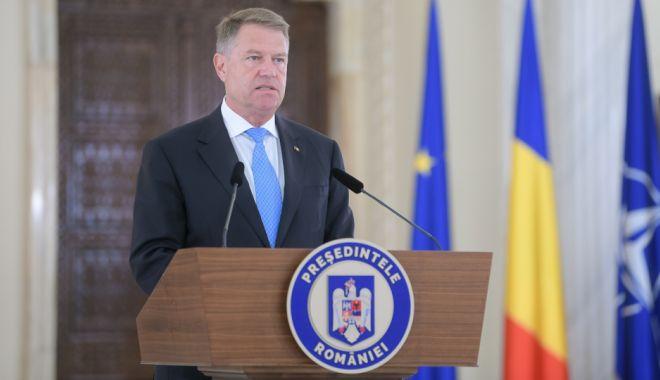 Foto: LIVE TEXT / Iohannis, principalele declarații de presă