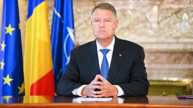 Foto: Președintele Klaus Iohannis, declarație de presă