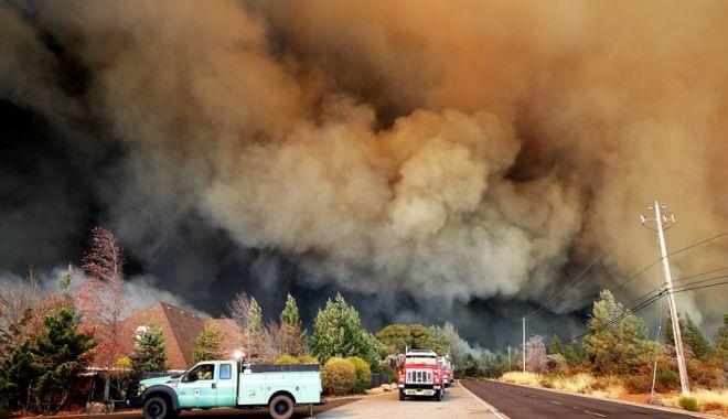 Foto: Care este bilanțul victimelor incendiului  din nordul Californiei