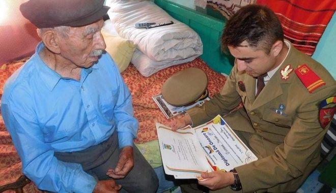 DOLIU: S-a stins din viață sergent Traian Șufană, ultimul veteran de război din satul Biruința - biruinta-1617627963.jpg