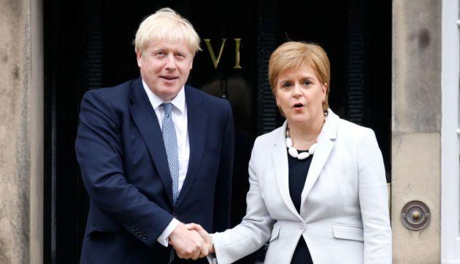 Foto: Boris Johnson acuzat că urmărește obținerea unui Brexit fără acord