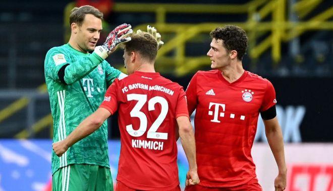 Foto: Bayern Munchen învinge la Dortmund și se apropie de titlu. Haaland, de nerecunoscut
