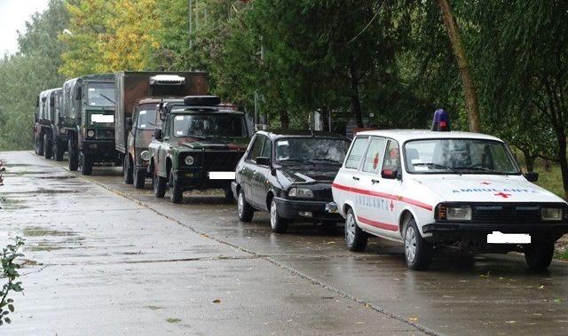 Foto: Tehnica navală, auto și de geniu. Chiar atât merită Armata Română?