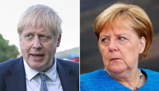 Foto: Brexit. Angela Merkel exclude noi negocieri cu Londra