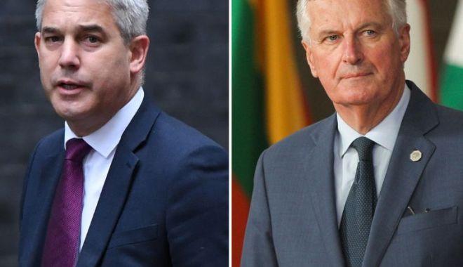 Foto: Brexit. Londra și-a trimis emisarul la Bruxelles pentru ultimele negocieri