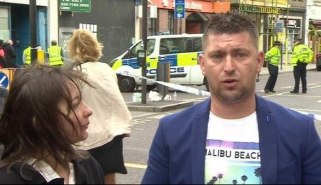 Foto: Românul considerat erou după atacul terorist de la Londra cere DAUNE